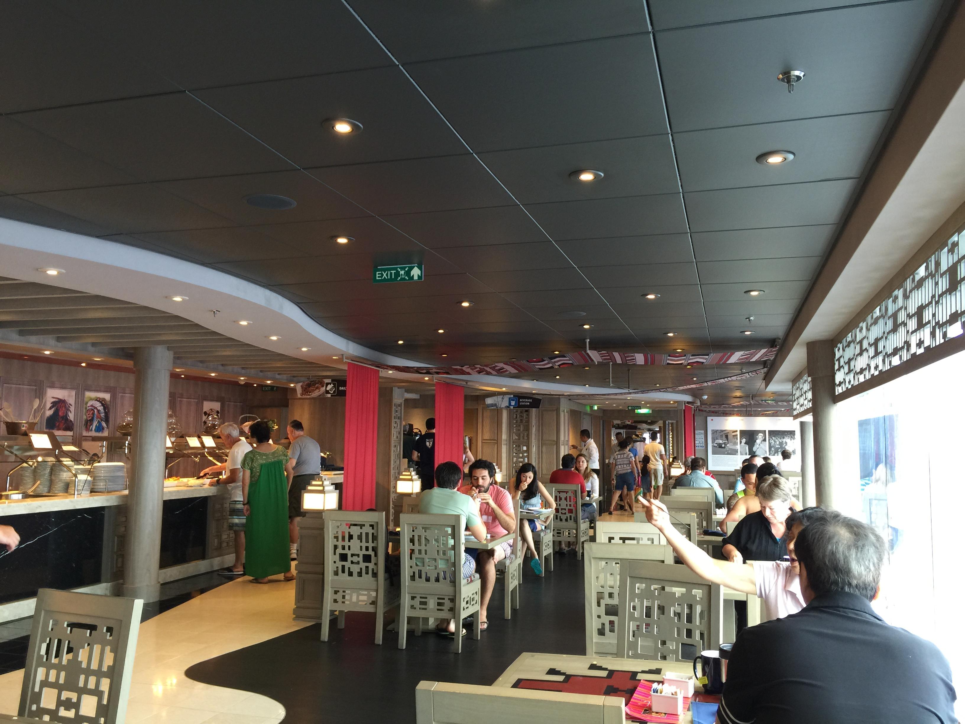 Crucero MSC Divina - Restaurante Buffette