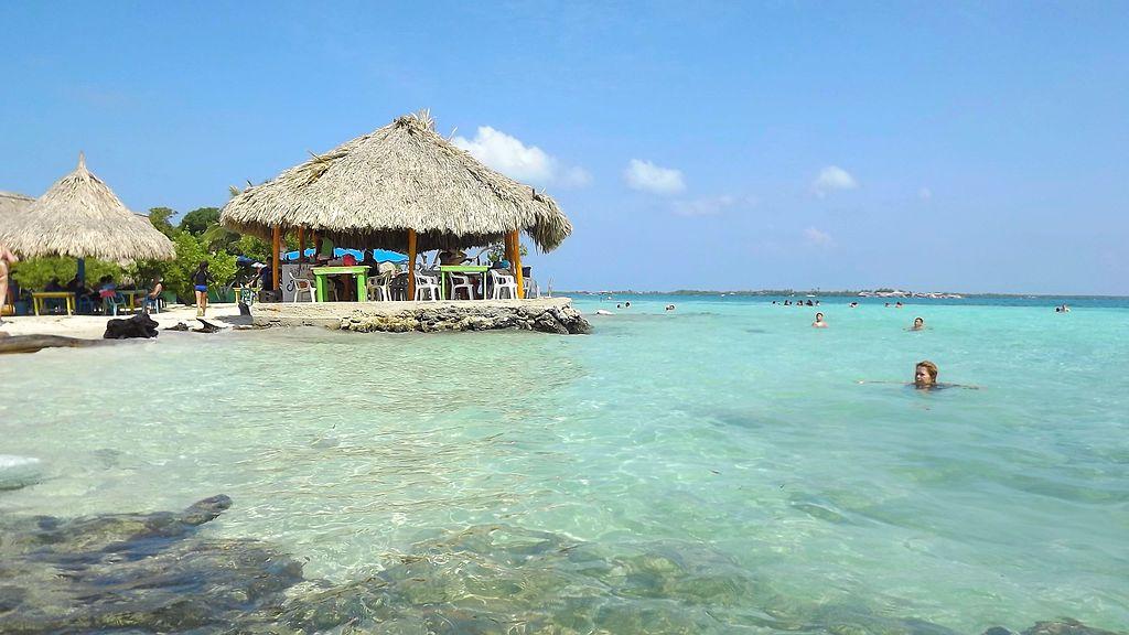 Playas de de la isla de Múcura. Caribe Colombiano