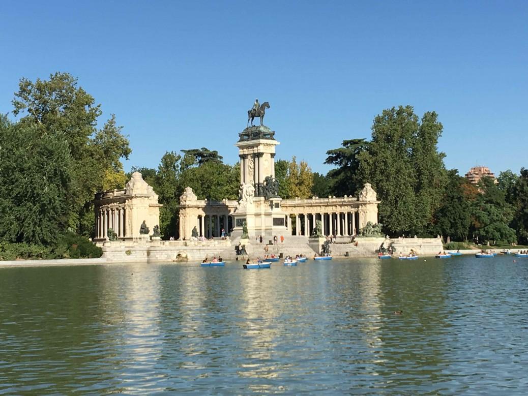 10 lugares imperdibles de Madrid - Parque del Retiro