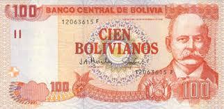 ¿Con cuántos pesos se compra un boliviano?