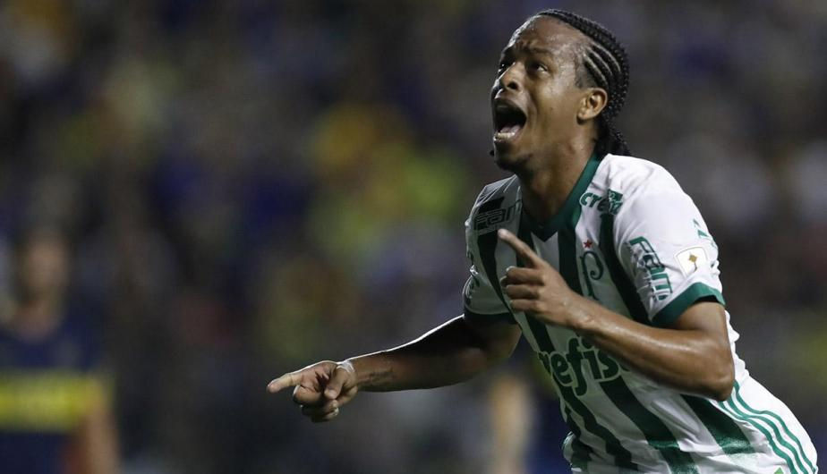 El primer gol del Palmeiras en la Bombonera
