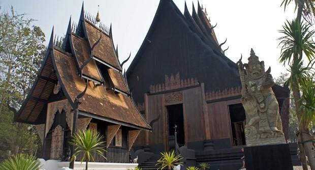 Casa negra - Chiang-Rai