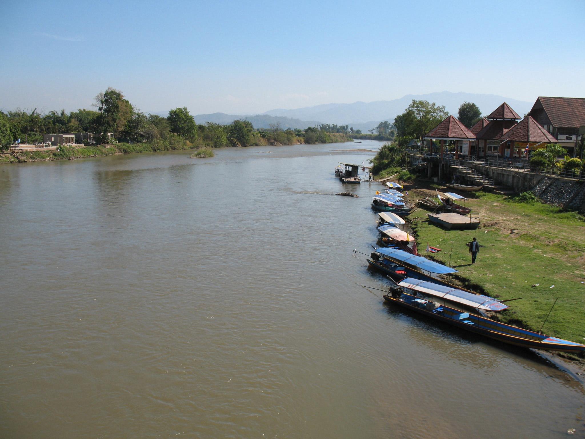 Río Kok - Qué hacer en Chiang Rai