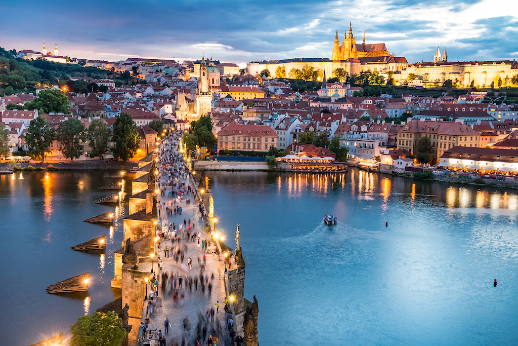Praga en todo su esplendor