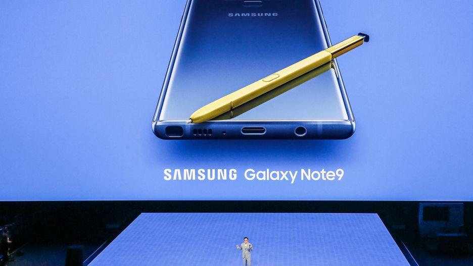 Samsung presentó el nuevo Galaxy Note 9