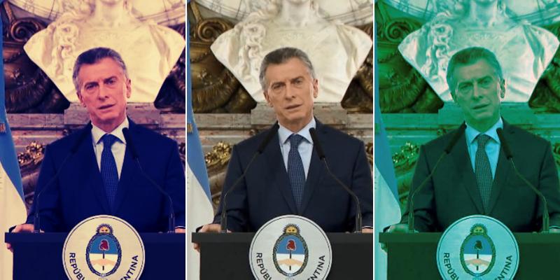 """Las redes """"bancan"""" el nuevo discurso de Macri"""