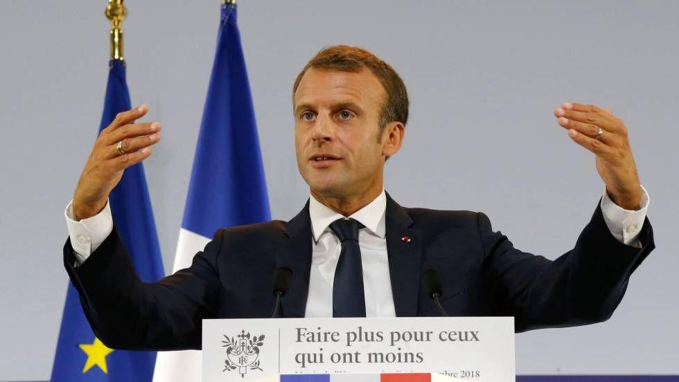 """Macron y la fuga hacia el """"populismo"""" para sortear la crisis política y económica"""