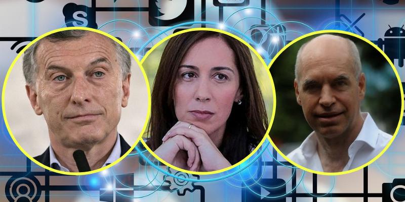 Elecciones en las redes: Quién puede ser el mejor candidato el oficialismo para 2019, ¿Macri, Vidal o Larreta?