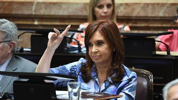 La mencionada Cristina Kirchner