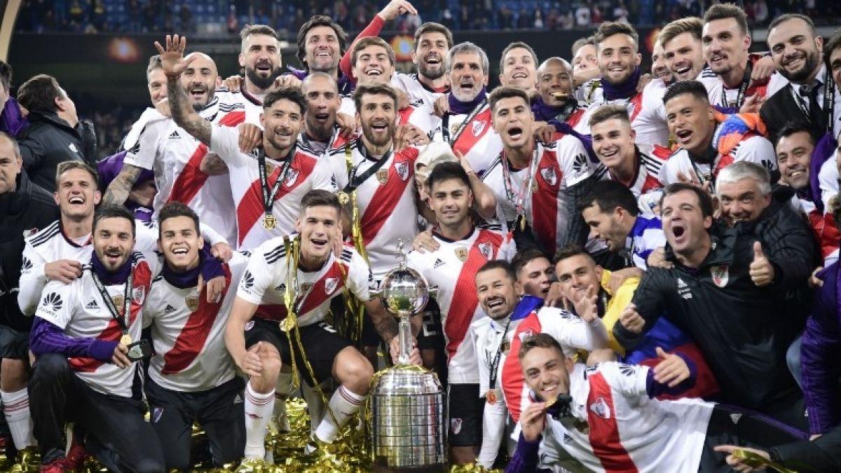 River campeón de la Libertadores en redes