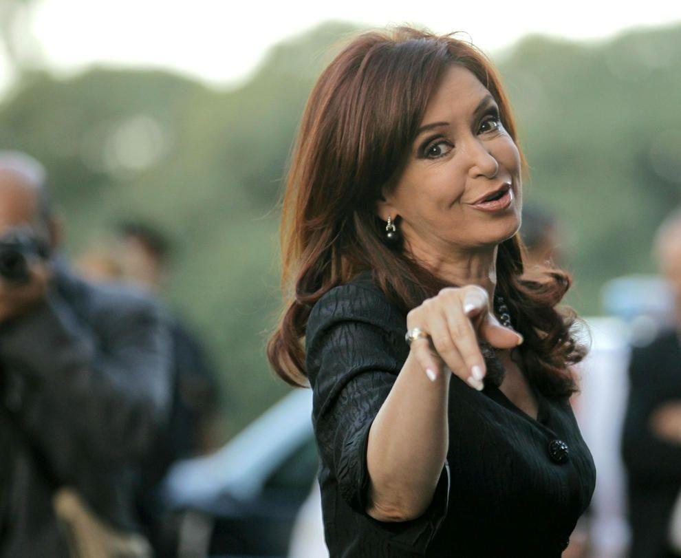 Cristina Kirchner, el 2018 en redes