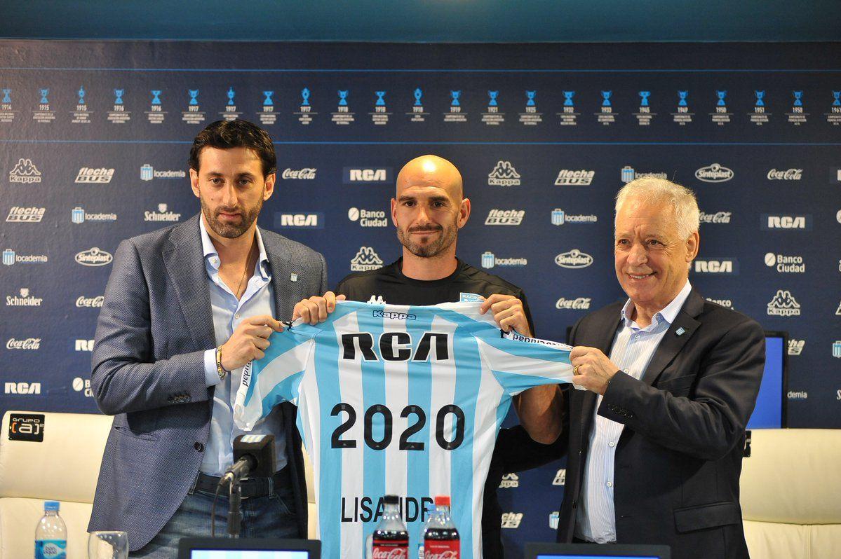 Racing Club: Lisandro 2020