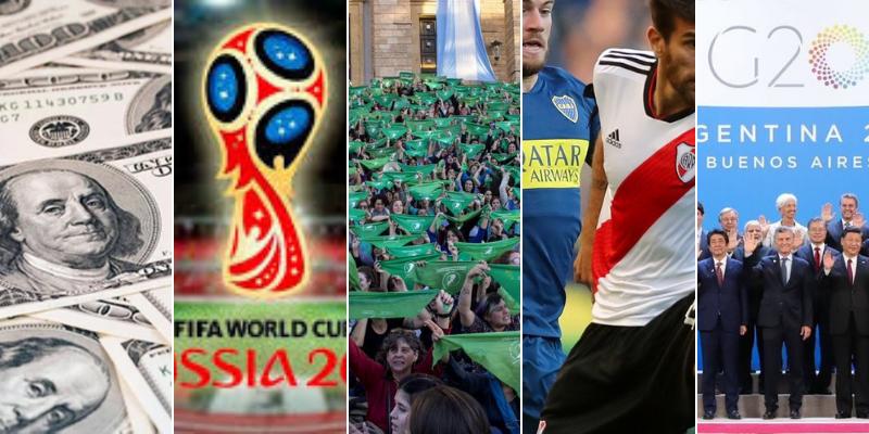 """2018 en las redes: El año del Mundial, del dólar y el """"romance"""" de Macri con el FMI"""