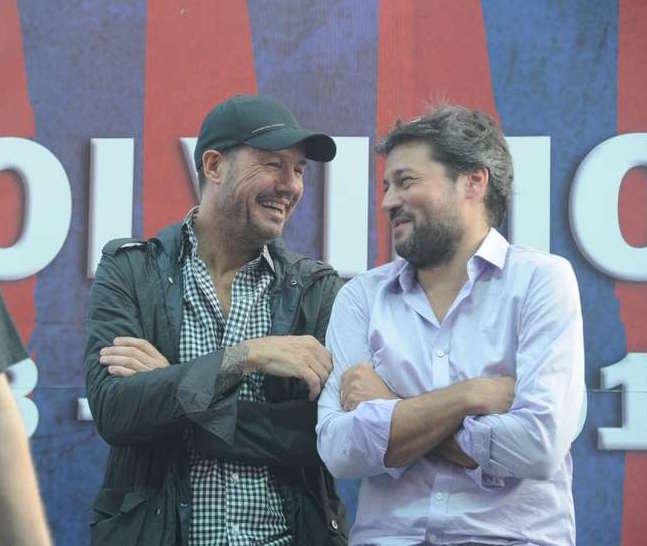 ¿Tinelli y Lammens hacen trabajo de audiencia en San Lorenzo?