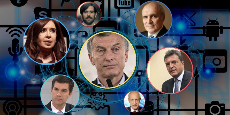 Elecciones 2019: Mauricio Macri con más menciones que apoyos en las redes sociales