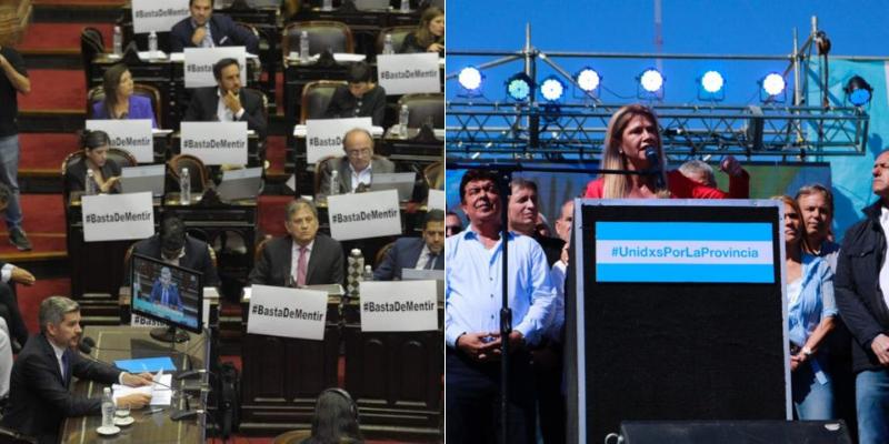 Al ritmo del #BastaDeMentir y #UnidxsPorLaProvincia, el peronismo K marcó la semana en las redes sociales