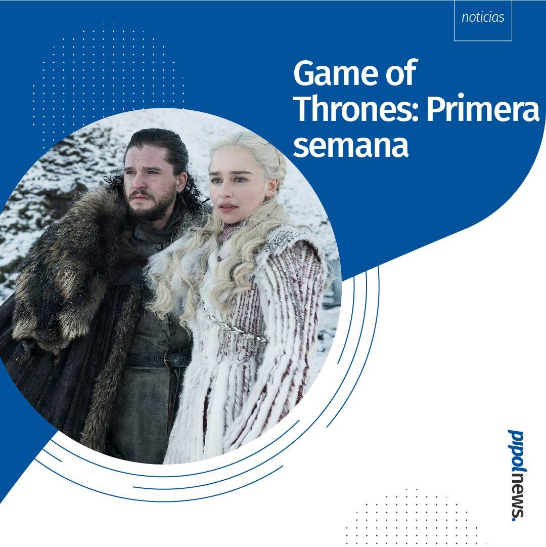 Game of Thrones en redes: Primera semana