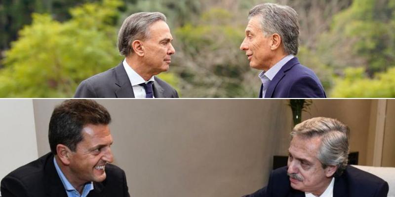 #JuntosPorElCambio y #FrenteDeTodos pelean usuario por usuario en las redes sociales