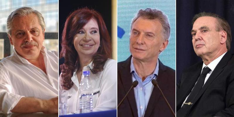 En las redes, los Fernández sacan (poca) ventana; Macri-Pichetto mejoran en imagen
