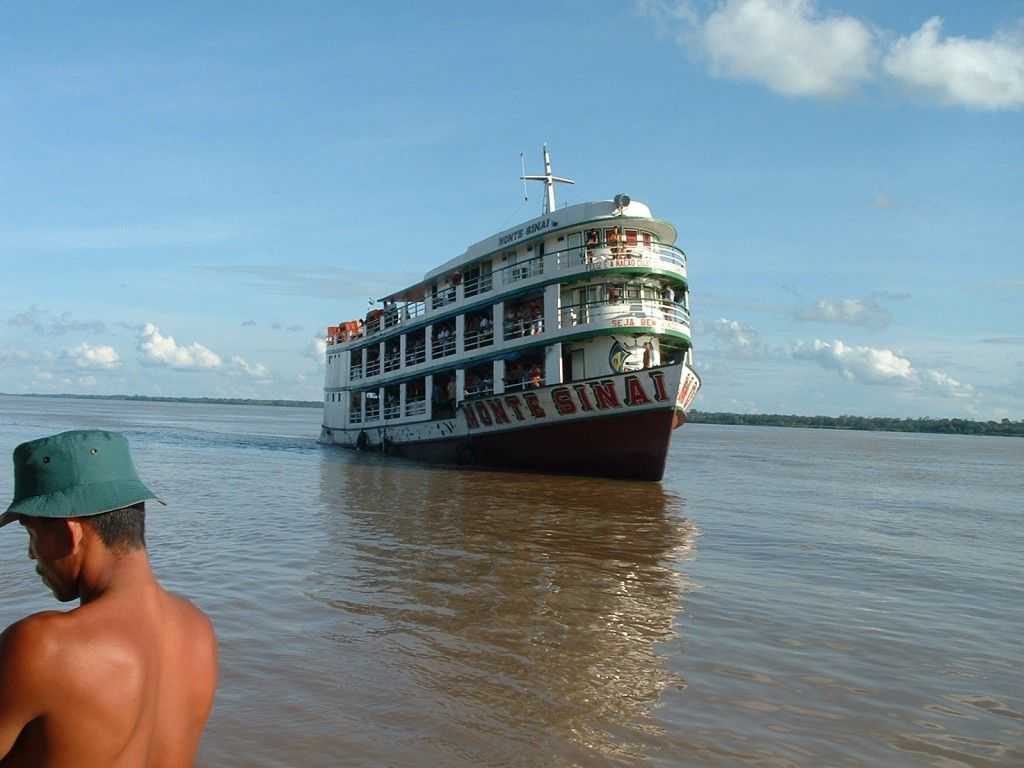 Un lugar oculto del Amazonas de Brasil