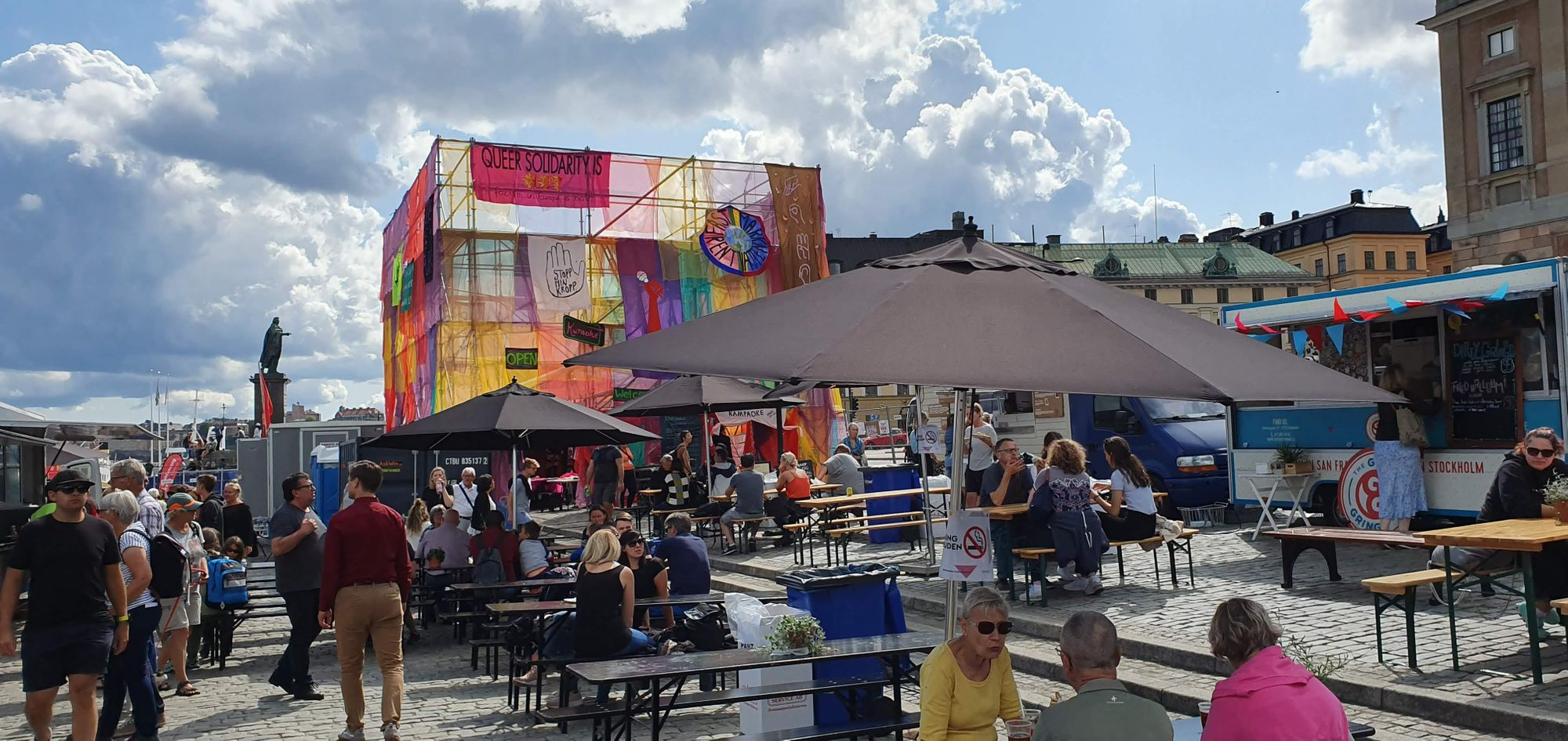 Carpa de la Diversidad en el Stockholms Kulturfestival