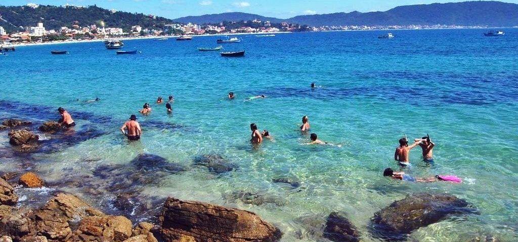 Playas de Bombas y Bombinhas