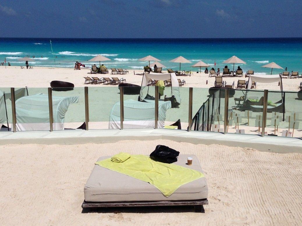 Playa a todo lujo en el Melody Maker all inclusive Cancún