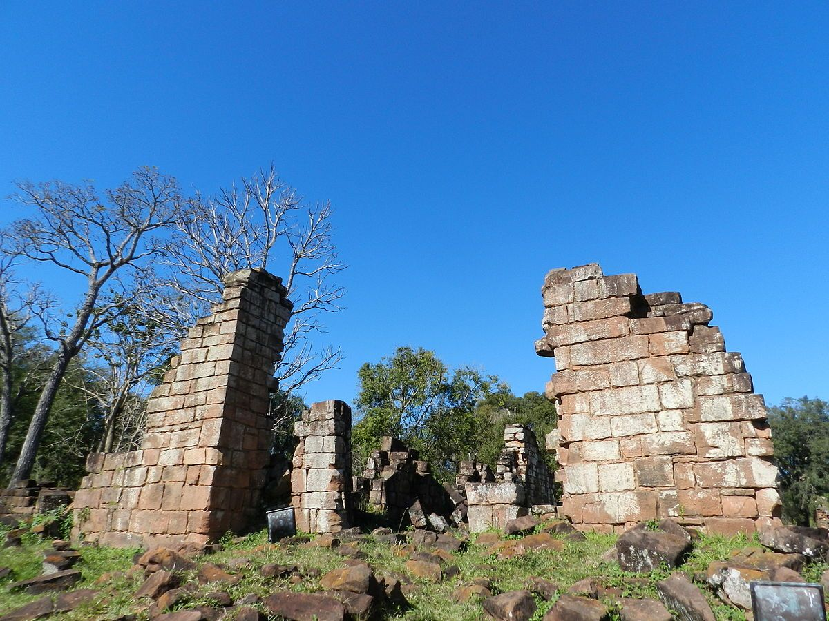 Ruinas de Santa Ana. Misiones, Argentina