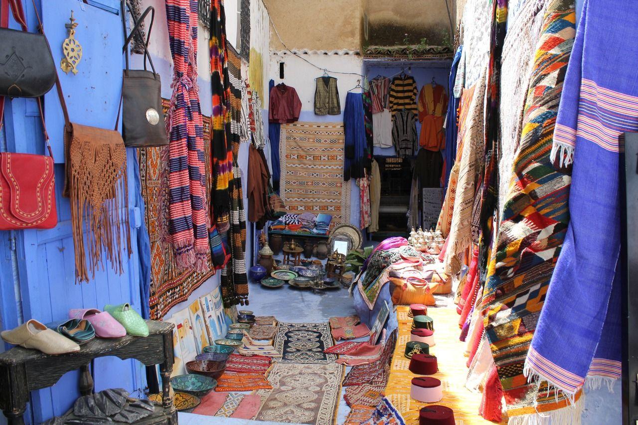 Pueblo azul. Marruecos mágico