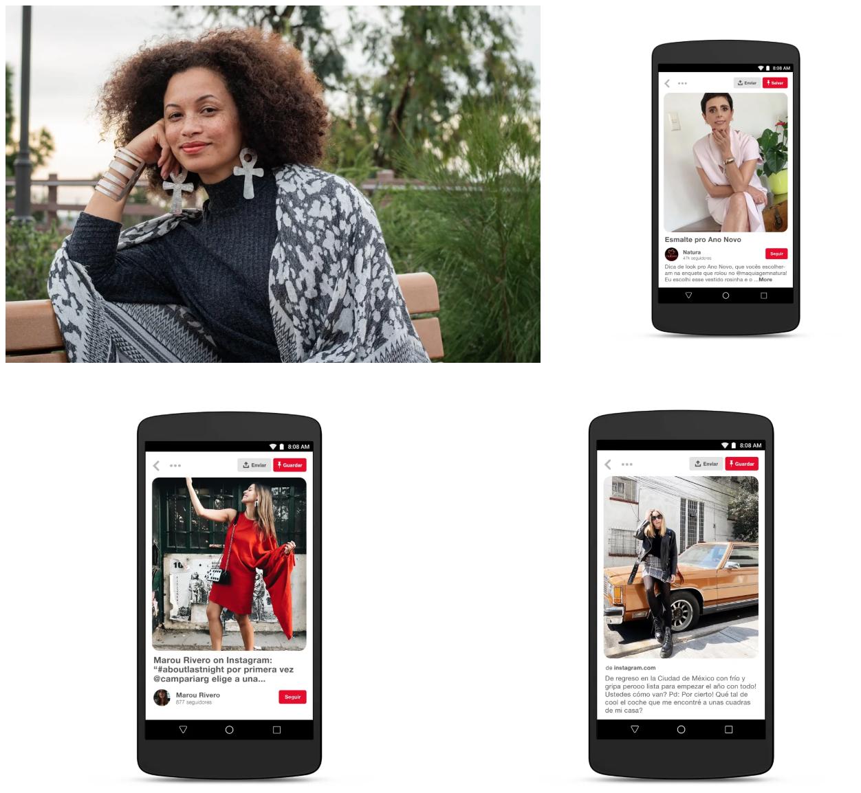 Inspiración para cada generación: estilo y belleza en Pinterest