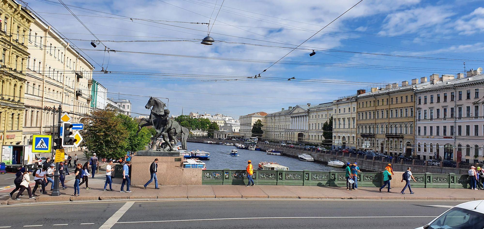La impresionante San Petersburgo
