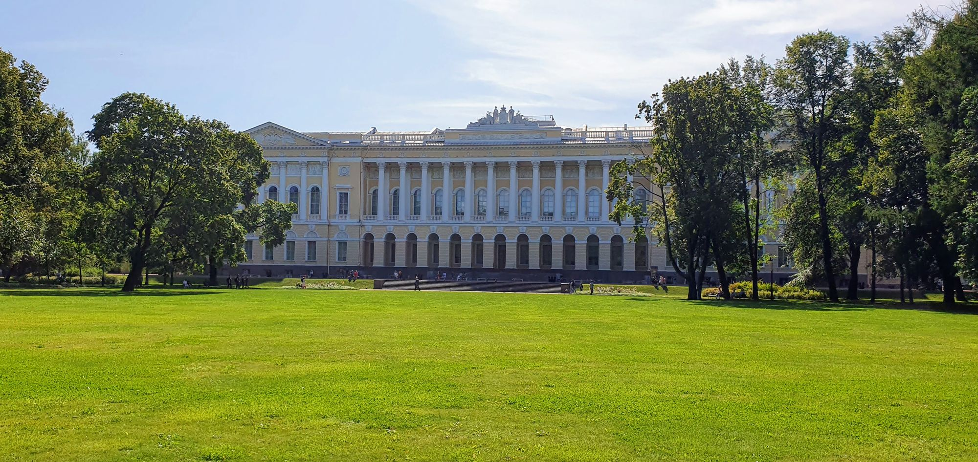Recorriendo los Jardines de verano de los zares en San Petersburgo