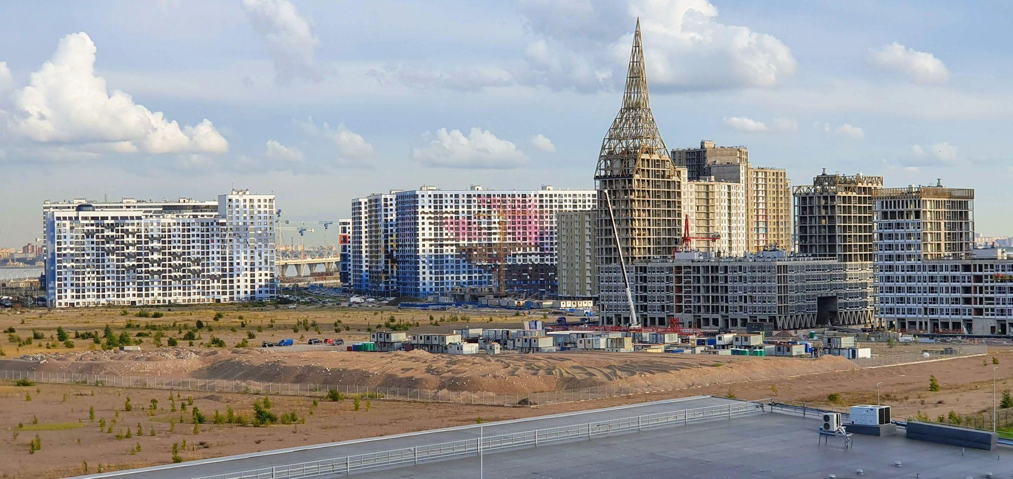 San Petersburgo Moderna, en pleno crecimiento a orillas del Mar Báltico