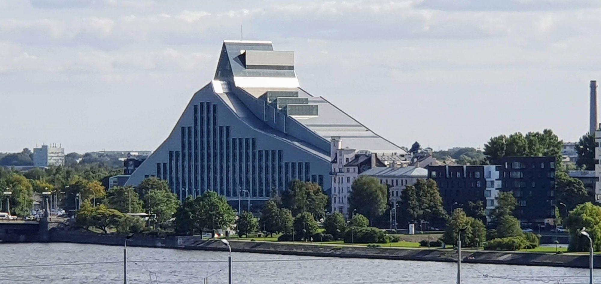 Biblioteca Nacional de Letonia, en Riga