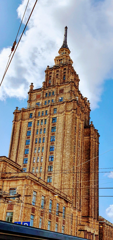 Edificio de la Academia de las Ciencias de Letonia