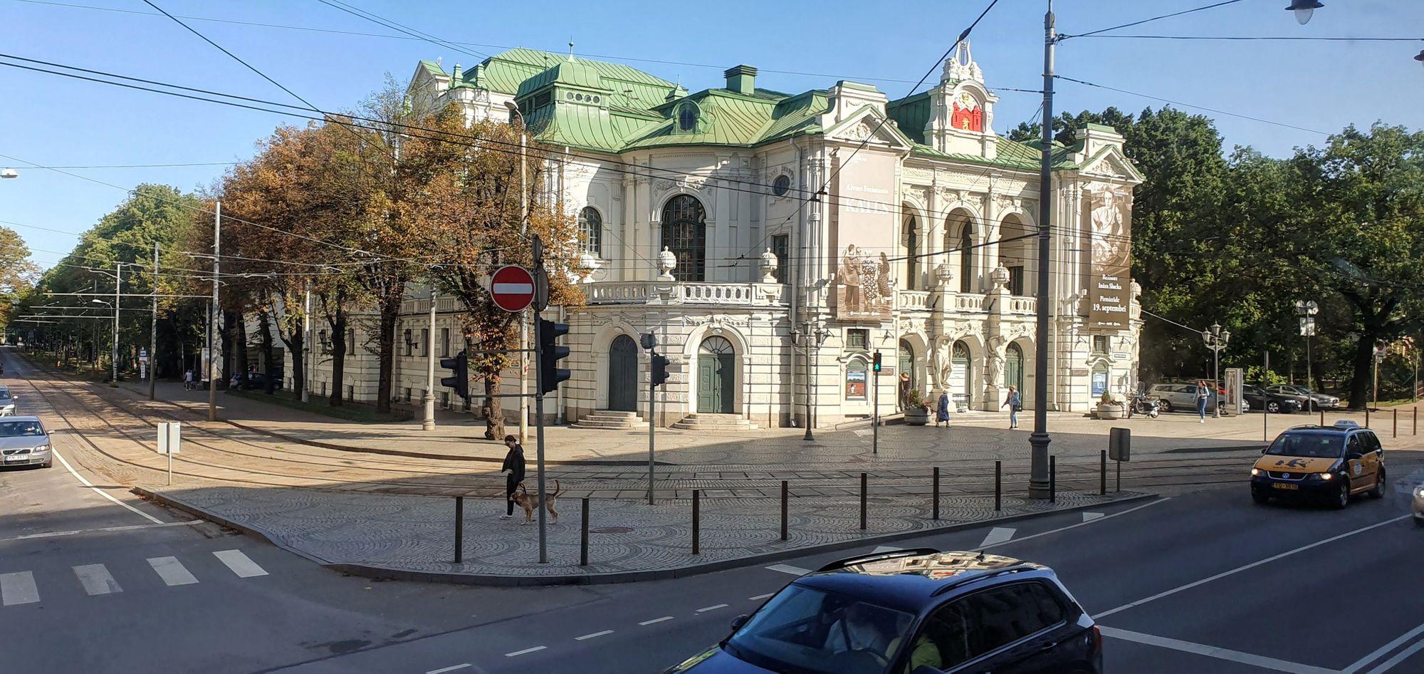 Teatro Nacional de Letonia, en Riga