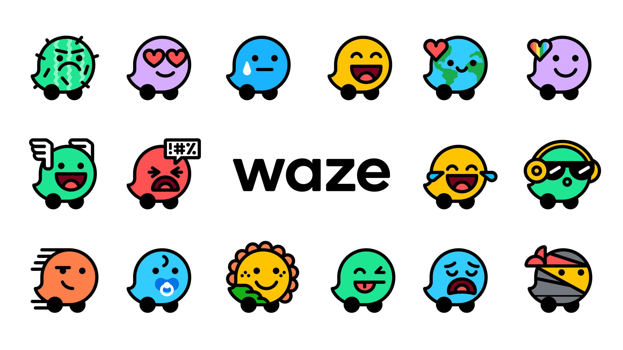 Estados de ánimo en Waze