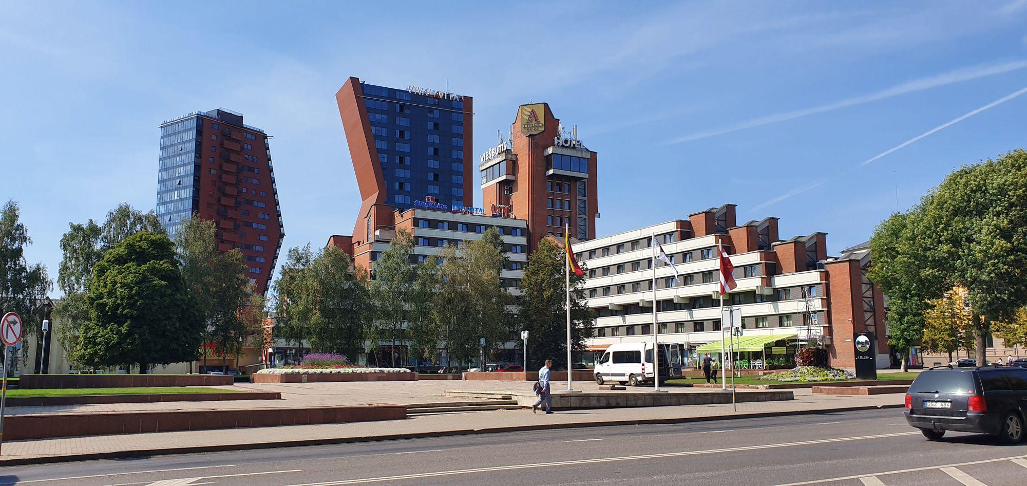 La ciudad nueva de Klaipeda