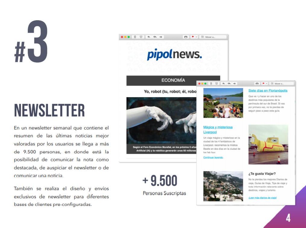 Media Kit Pipol News