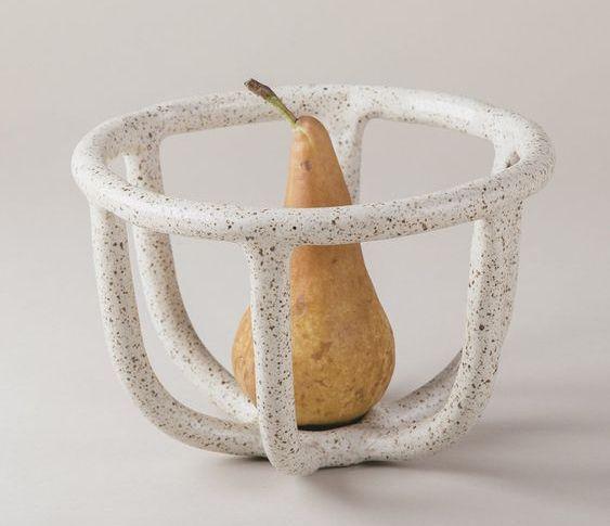 Frutero de cerámica
