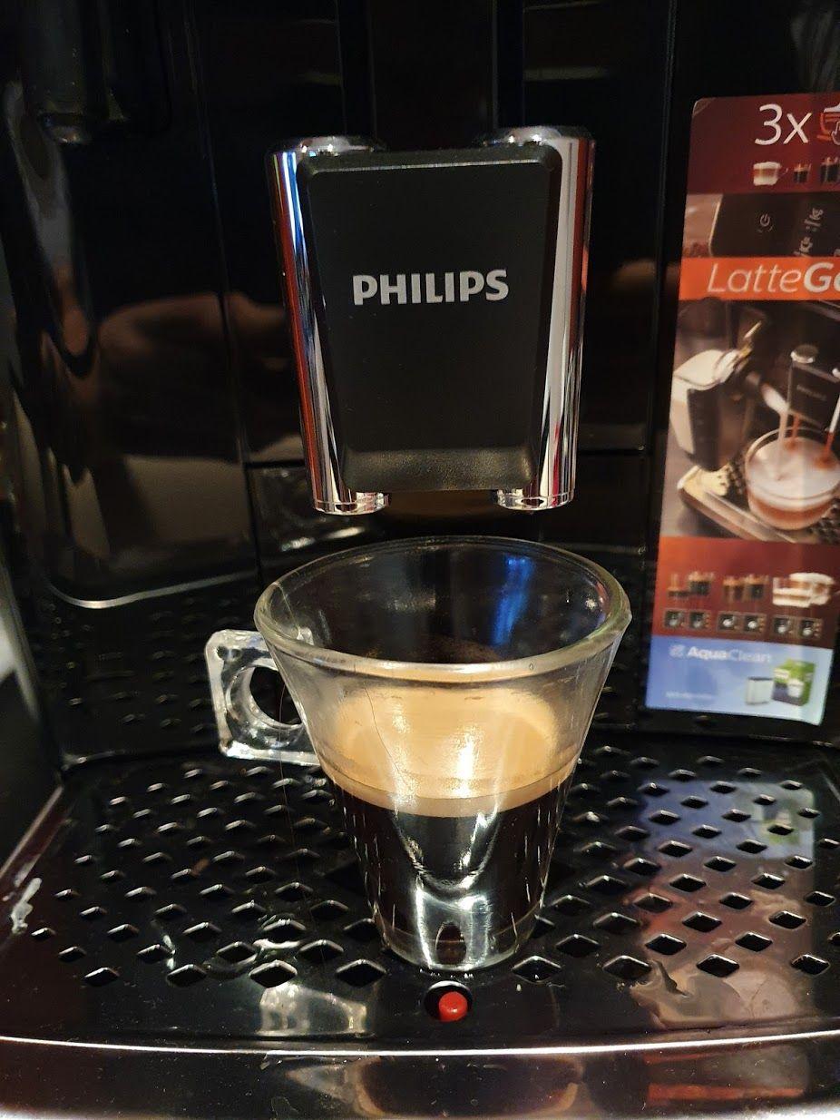 Mi primer espresso en la LatteGo 2231
