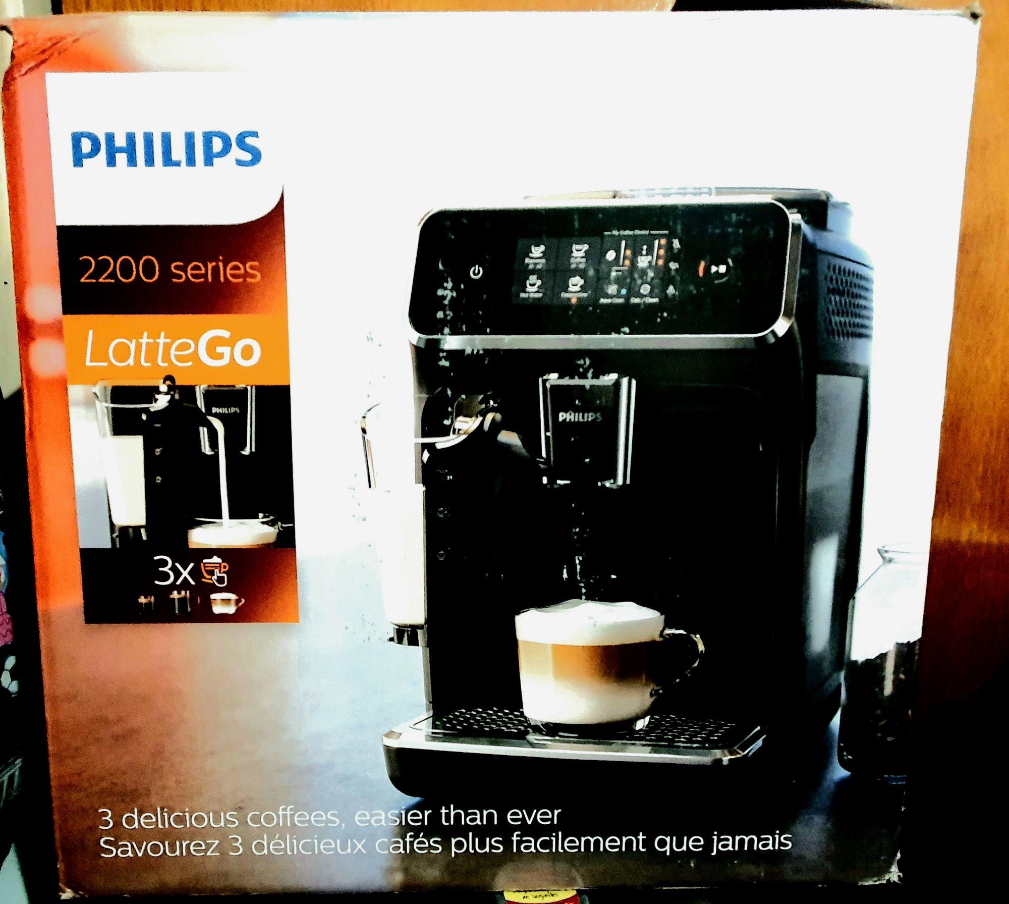 Empaque de la Philips LatteGo 2200