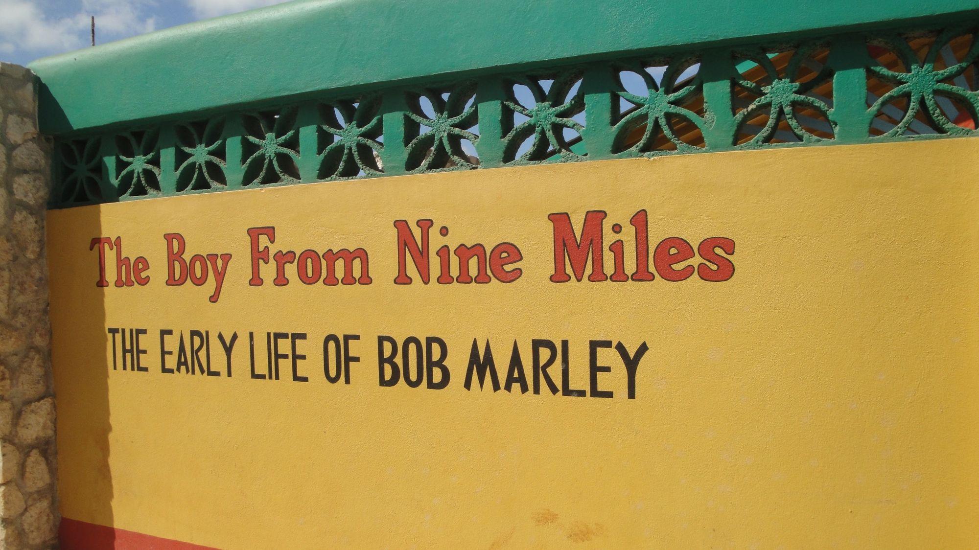 En Nine Miles. lugar de nacimiento de Bob Marley