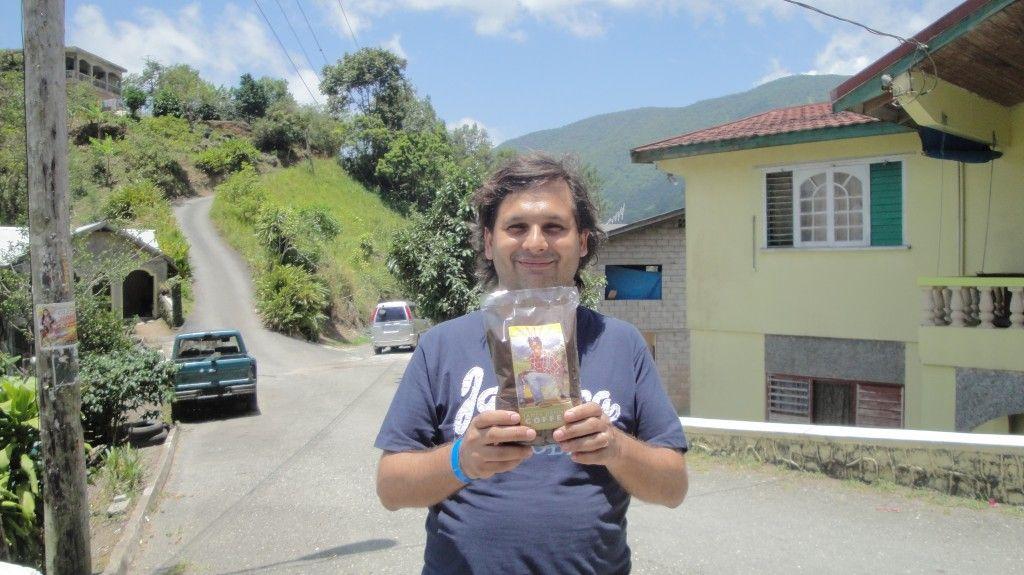 En Section con mi blue mountain. kingston jamaica