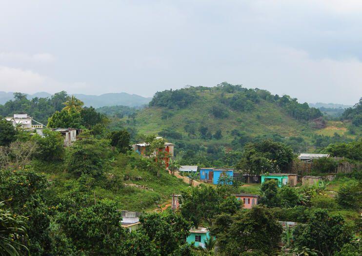 Pueblo de Nine Mile, lugar de nacimiento de Bob Marley