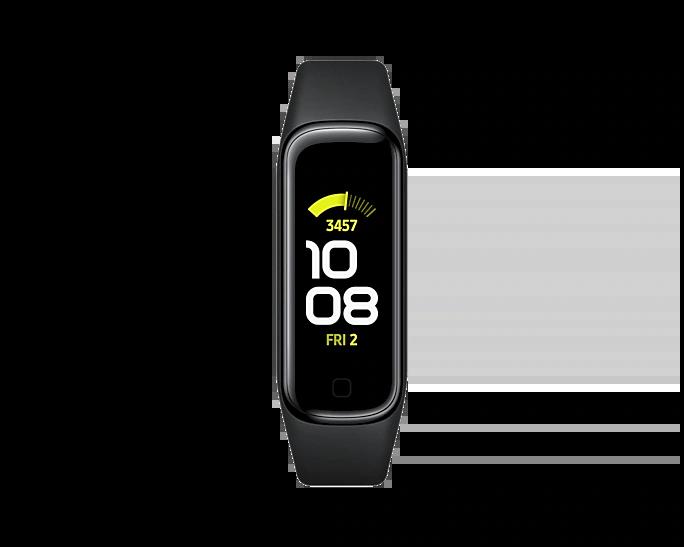 Banda inteligente Galaxy Fit 2. Foto de Samsung